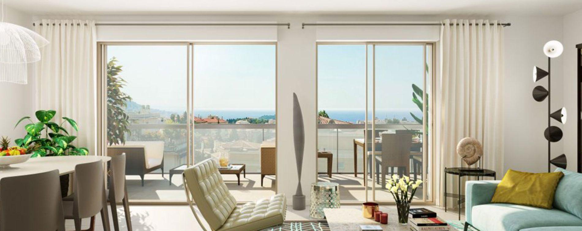 Nice : programme immobilier neuve « Programme immobilier n°217726 » en Loi Pinel (2)