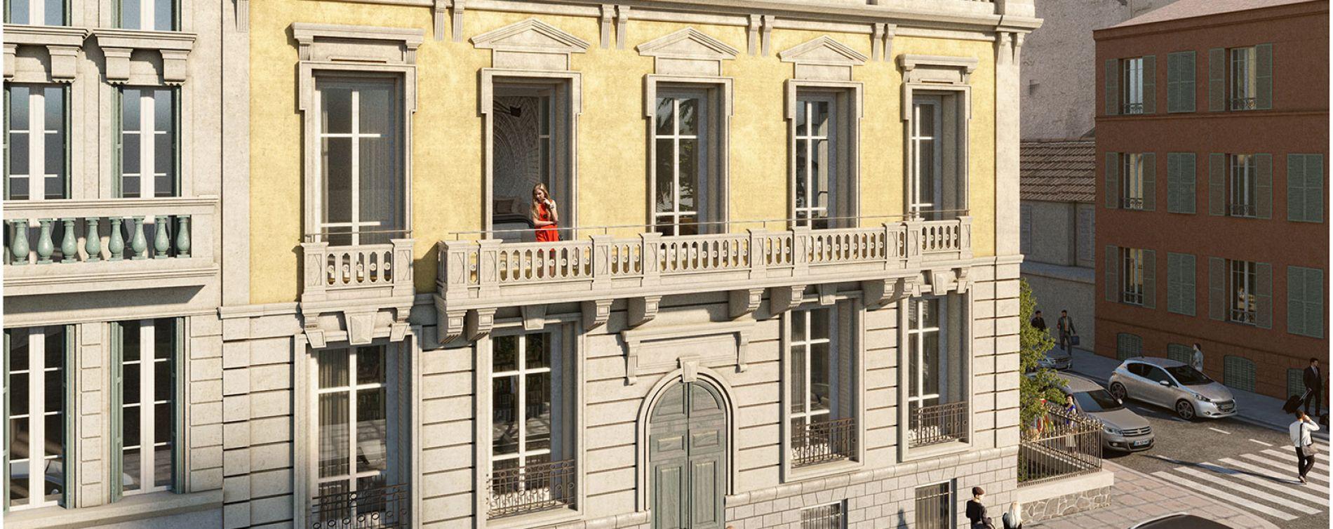 Résidence 8 Rue Offenbach à Nice