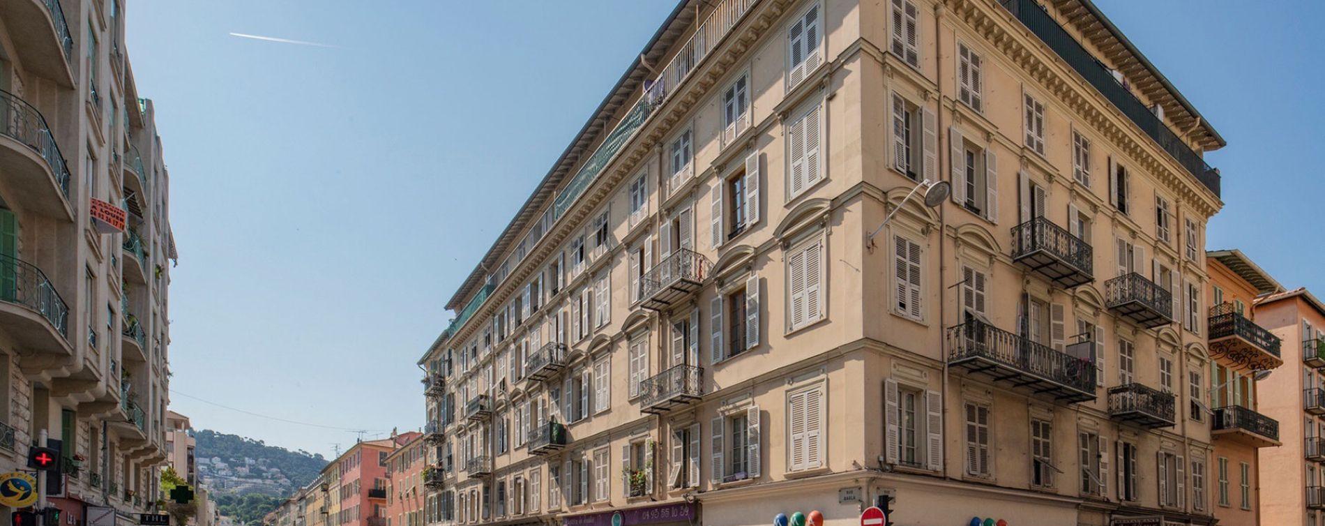 Nice : programme immobilier à rénover « Agaric » en Déficit Foncier