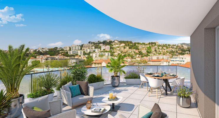 Résidence « Allure » programme immobilier neuf en Loi Pinel à Nice n°1
