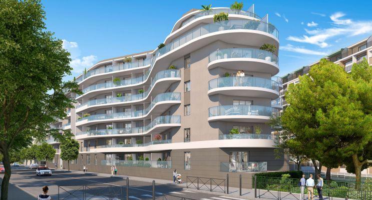 Résidence « Allure » programme immobilier neuf en Loi Pinel à Nice n°2