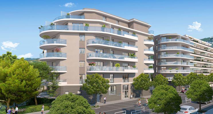 Résidence « Allure » programme immobilier neuf en Loi Pinel à Nice n°3