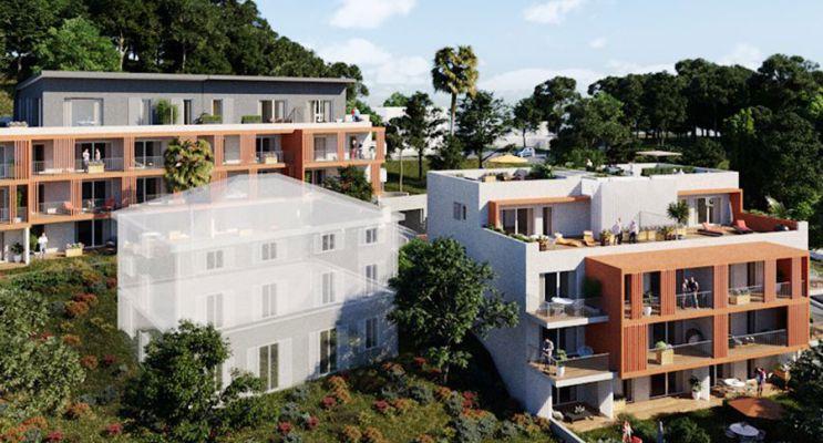 Photo du Résidence « Azur et Sens » programme immobilier neuf en Loi Pinel à Nice