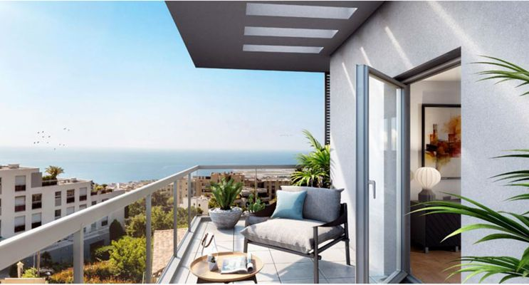 Nice : programme immobilier neuf « Bay View » en Loi Pinel