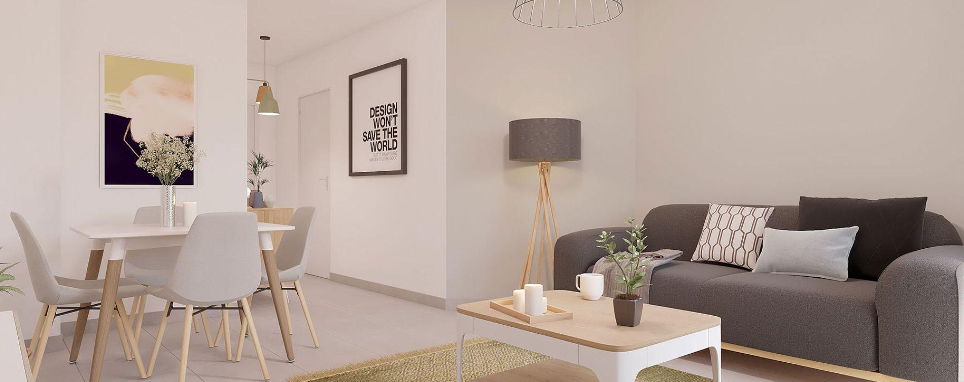 Nice : programme immobilier neuve « Carré Confidence » en Loi Pinel (5)