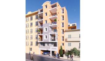 Nice : programme immobilier neuf « Carré Confidence » en Loi Pinel