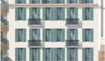 Résidence « Coeur Delille » programme immobilier à rénover en Loi Pinel ancien à Nice