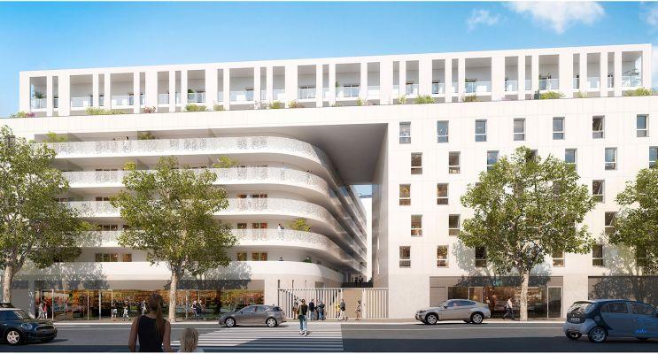 Nice : programme immobilier neuf « Eden Roch Plaza »