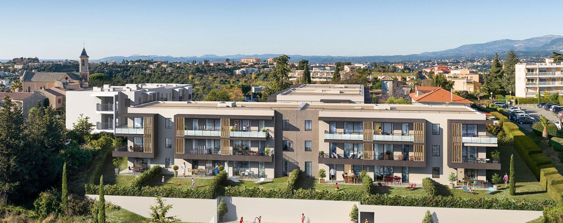 Nice : programme immobilier neuve « Edonice » en Loi Pinel (2)