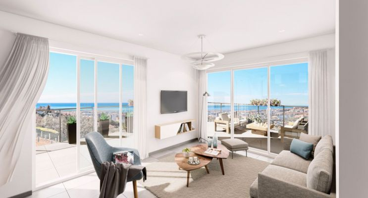 Résidence « Eleganza » programme immobilier neuf en Loi Pinel à Nice n°3