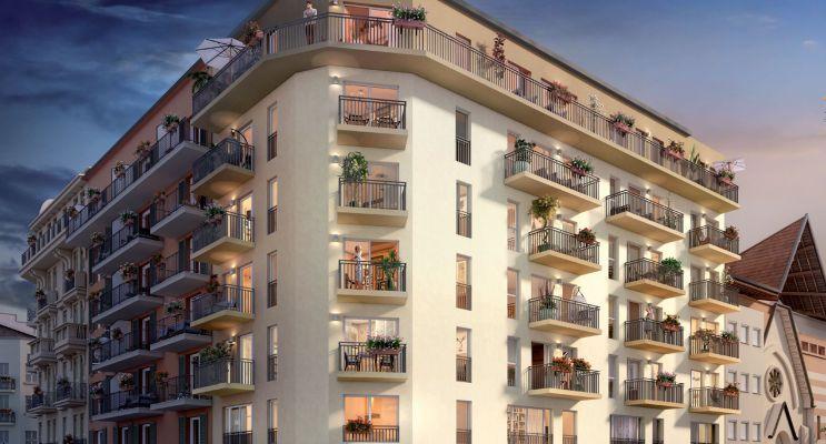 Photo n°1 du Résidence « Esprit City » programme immobilier neuf en Loi Pinel à Nice