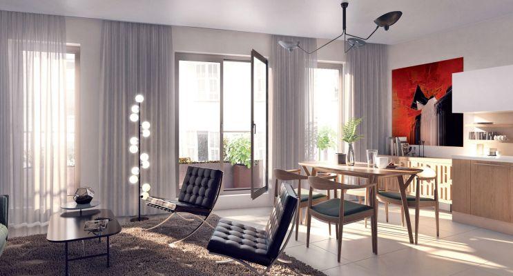 Photo n°2 du Résidence « Esprit City » programme immobilier neuf en Loi Pinel à Nice