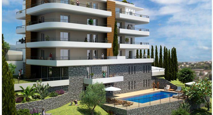Résidence « Fabron Seaside » programme immobilier neuf en Loi Pinel à Nice n°1