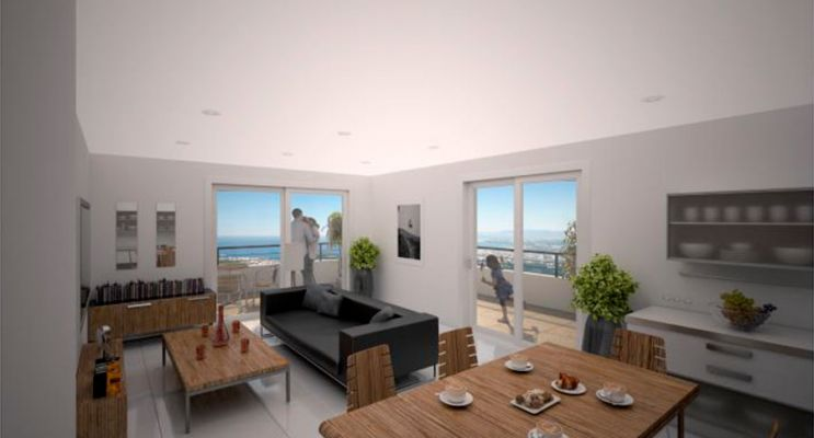 Résidence « Fabron Seaside » programme immobilier neuf en Loi Pinel à Nice n°3