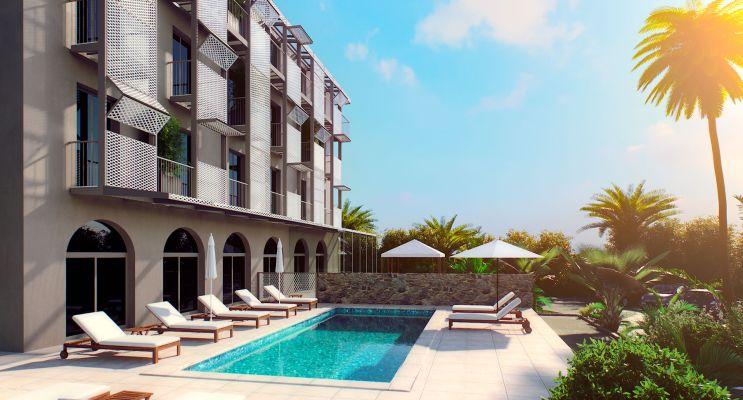 Nice : programme immobilier à rénover « Hôtel NCA - 3 Avenue Costa Bella » en Déficit Foncier