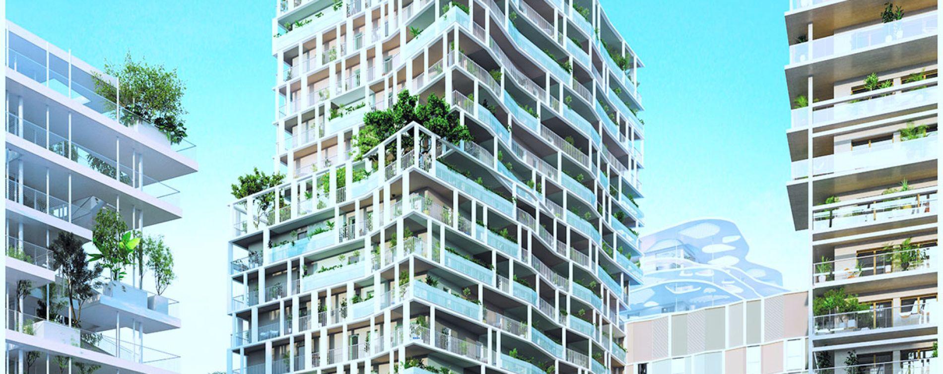 Nice : programme immobilier neuve « JOIA - Résidences Reva et Sola » en Loi Pinel