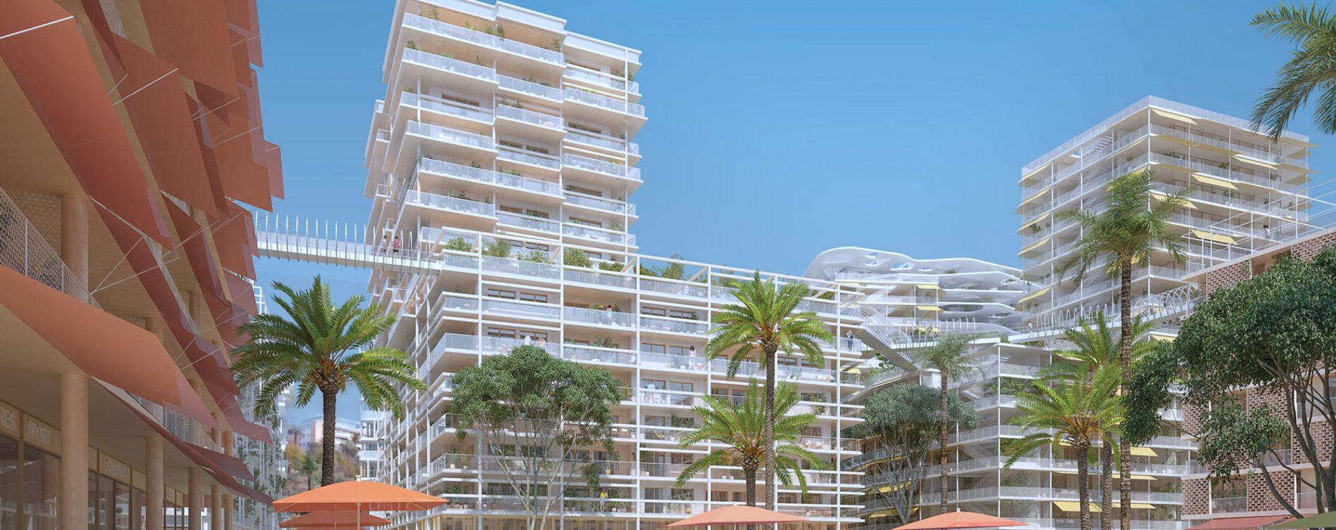 Nice : programme immobilier neuve « JOIA - Résidences Reva et Sola » en Loi Pinel (3)