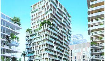 Nice : programme immobilier neuf « JOIA - Résidences Reva et Sola » en Loi Pinel