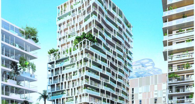 Nice programme immobilier neuf « JOIA - Résidences Reva et Sola » en Loi Pinel