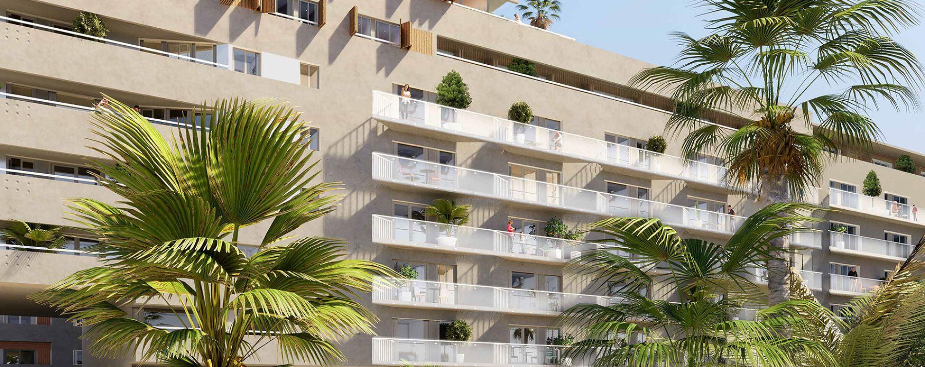 Nice : programme immobilier neuve « L'Avant Scène » en Loi Pinel (2)