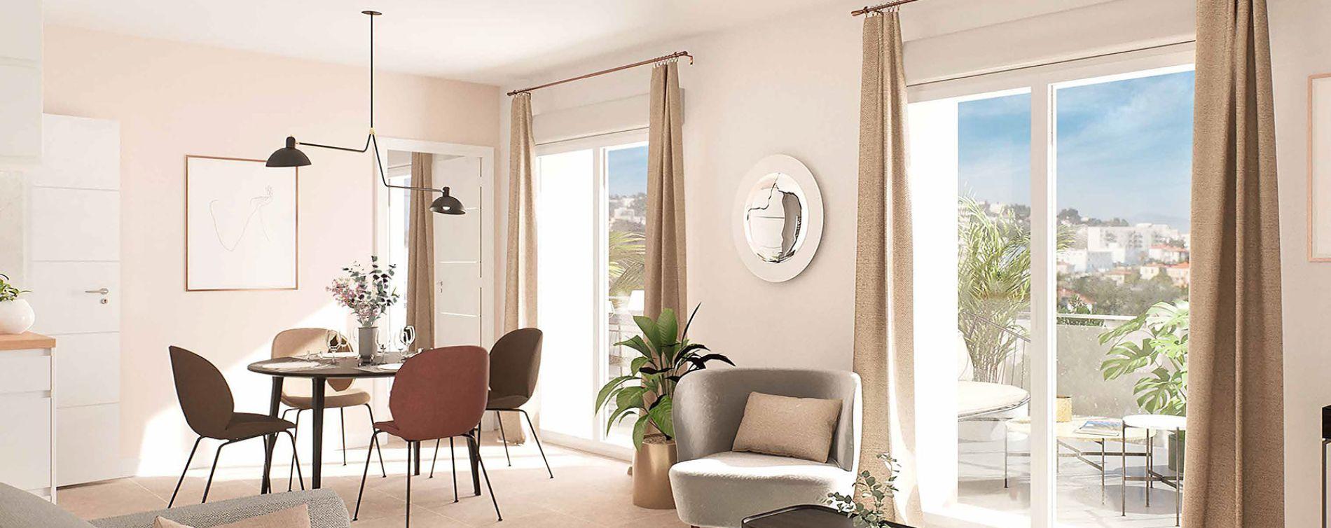 Nice : programme immobilier neuve « L'Avant Scène » en Loi Pinel (3)