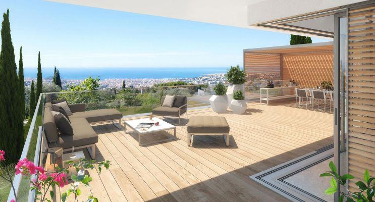 Photo du Résidence « Le Domaine de Gairaut » programme immobilier neuf en Loi Pinel à Nice