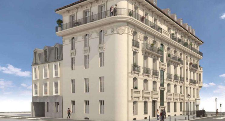 Nice : programme immobilier neuf « Le Malaussena - Neuf » en Loi Pinel