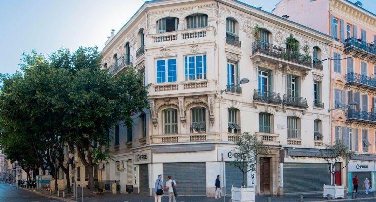 Photo du Résidence « Le Malausséna » programme immobilier à rénover en Déficit Foncier à Nice