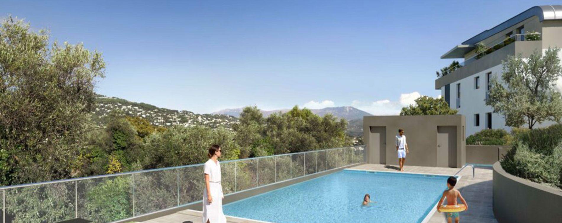 Nice : programme immobilier neuve « Programme immobilier n°219304 » en Loi Pinel