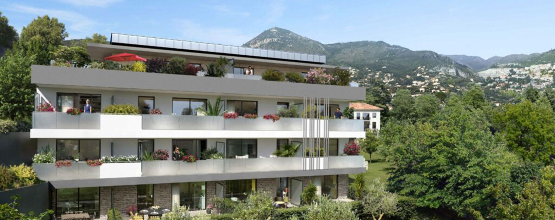 Nice : programme immobilier neuve « Programme immobilier n°219304 » en Loi Pinel (3)