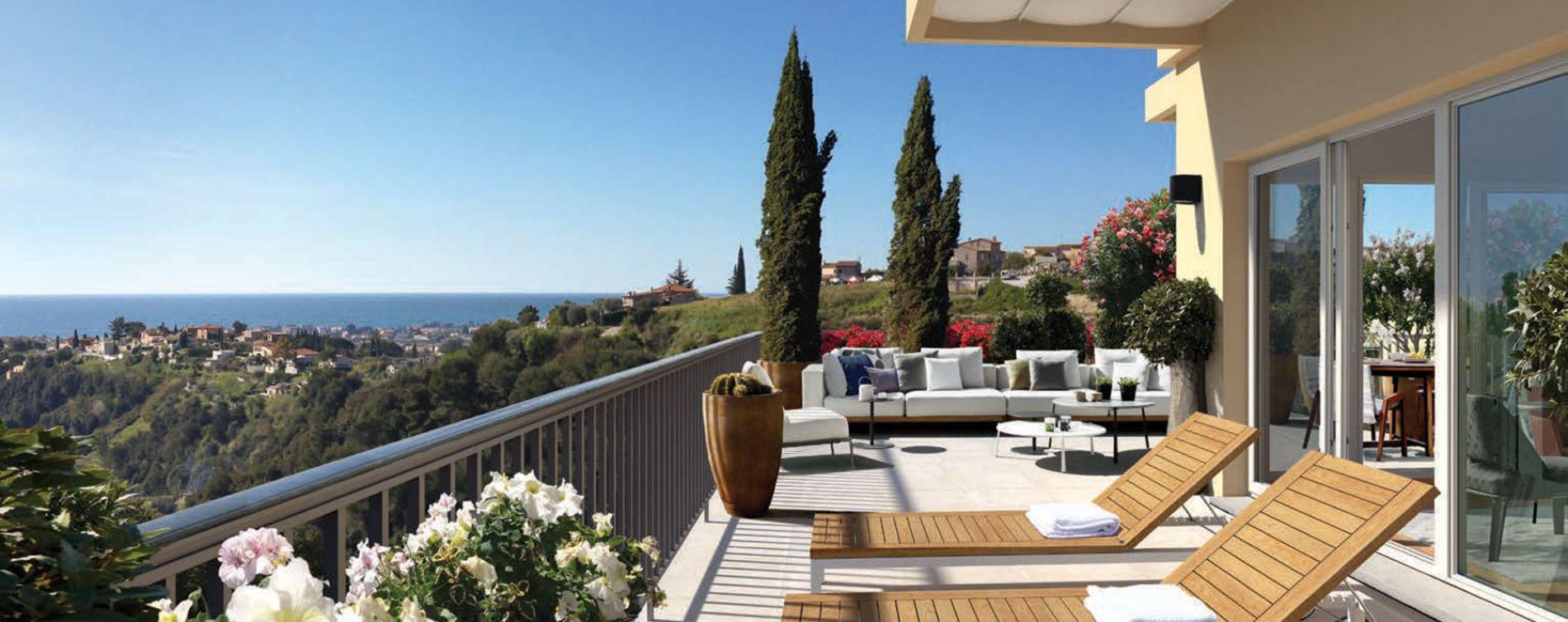 Nice : programme immobilier neuve « Programme immobilier n°216421 » en Loi Pinel