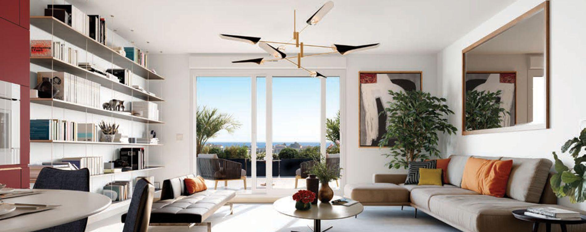 Nice : programme immobilier neuve « Programme immobilier n°216421 » en Loi Pinel (3)