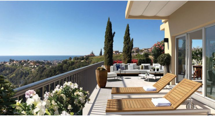 Nice : programme immobilier neuf «  n°216421 » en Loi Pinel
