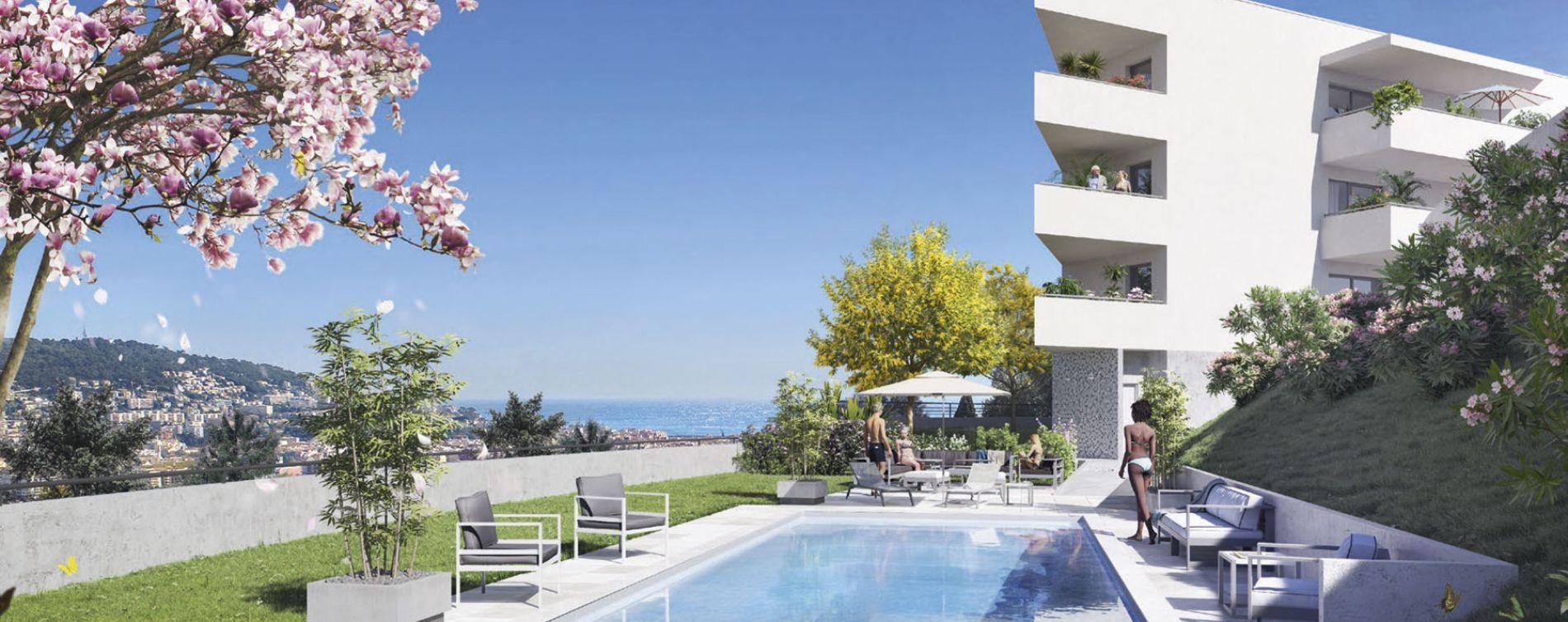 Nice : programme immobilier neuve « L'Exclusive » en Loi Pinel