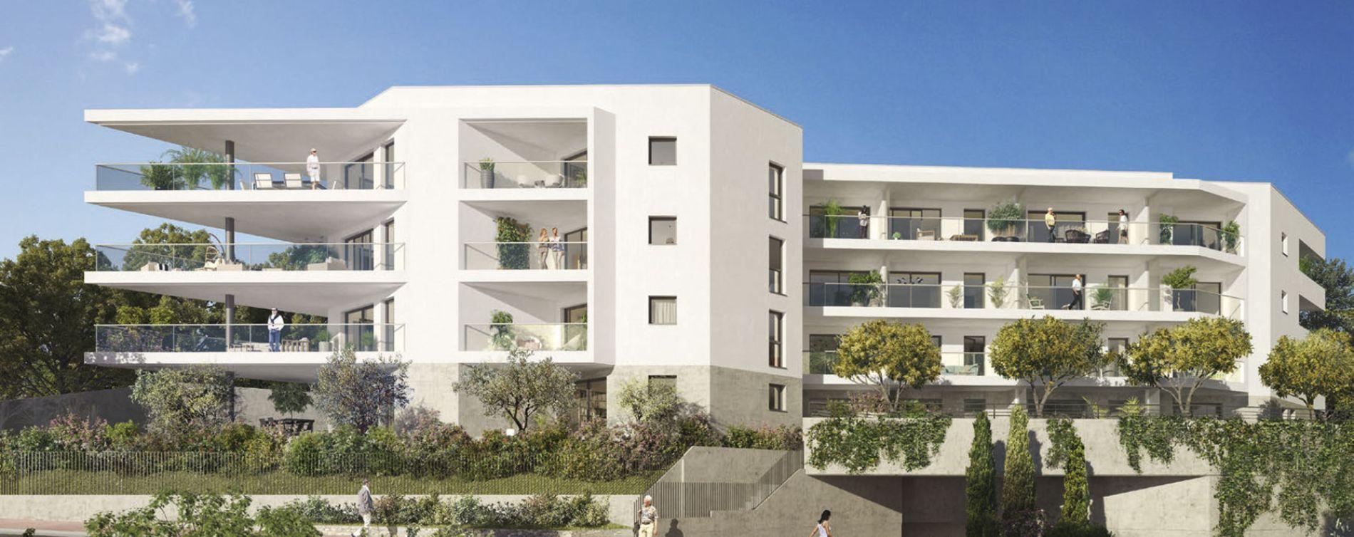 Nice : programme immobilier neuve « L'Exclusive » en Loi Pinel (3)