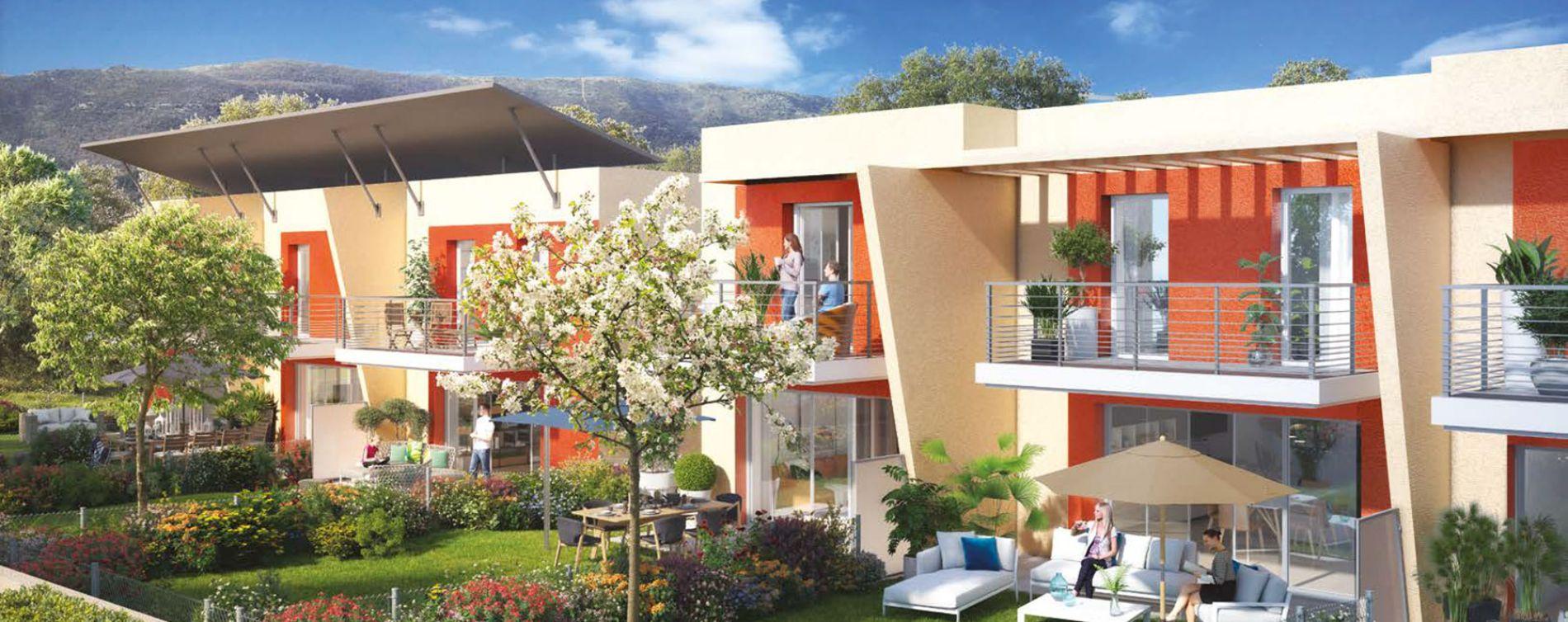 Nice : programme immobilier neuve « Millesime » en Loi Pinel