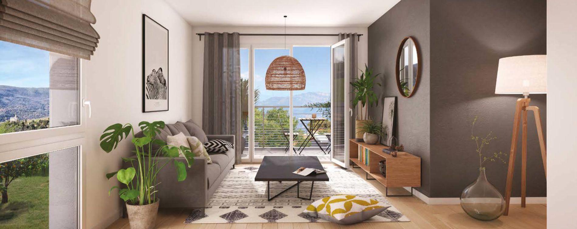 Nice : programme immobilier neuve « Millesime » en Loi Pinel (3)