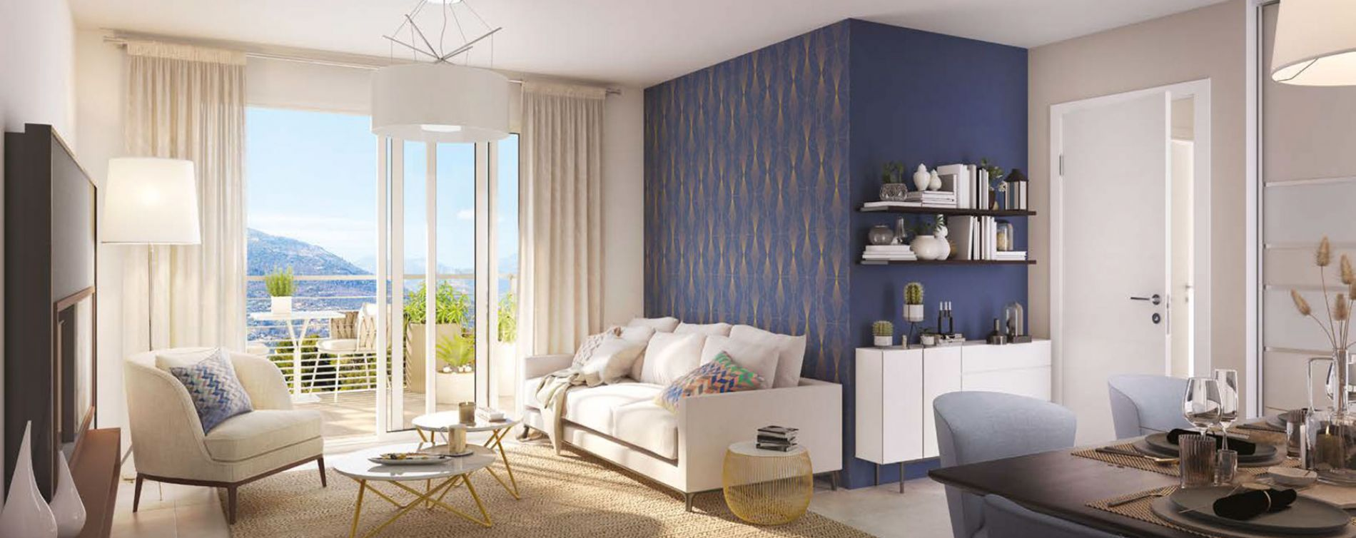 Nice : programme immobilier neuve « Millesime » en Loi Pinel (4)