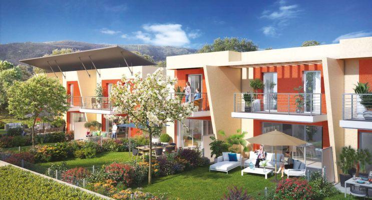 Nice : programme immobilier neuf « Millesime » en Loi Pinel