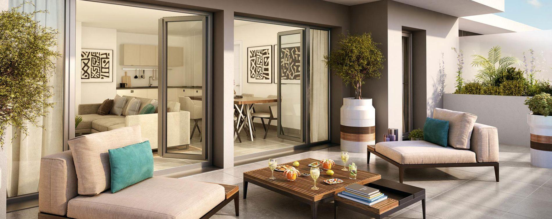 Nice : programme immobilier neuve « Nice Way nue-propriété » (3)
