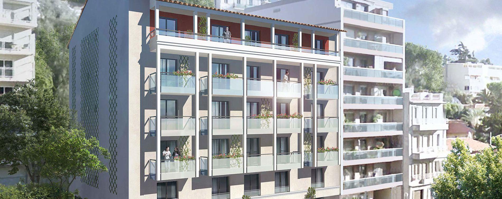 Nice : programme immobilier neuve « Nouvelle Vague »
