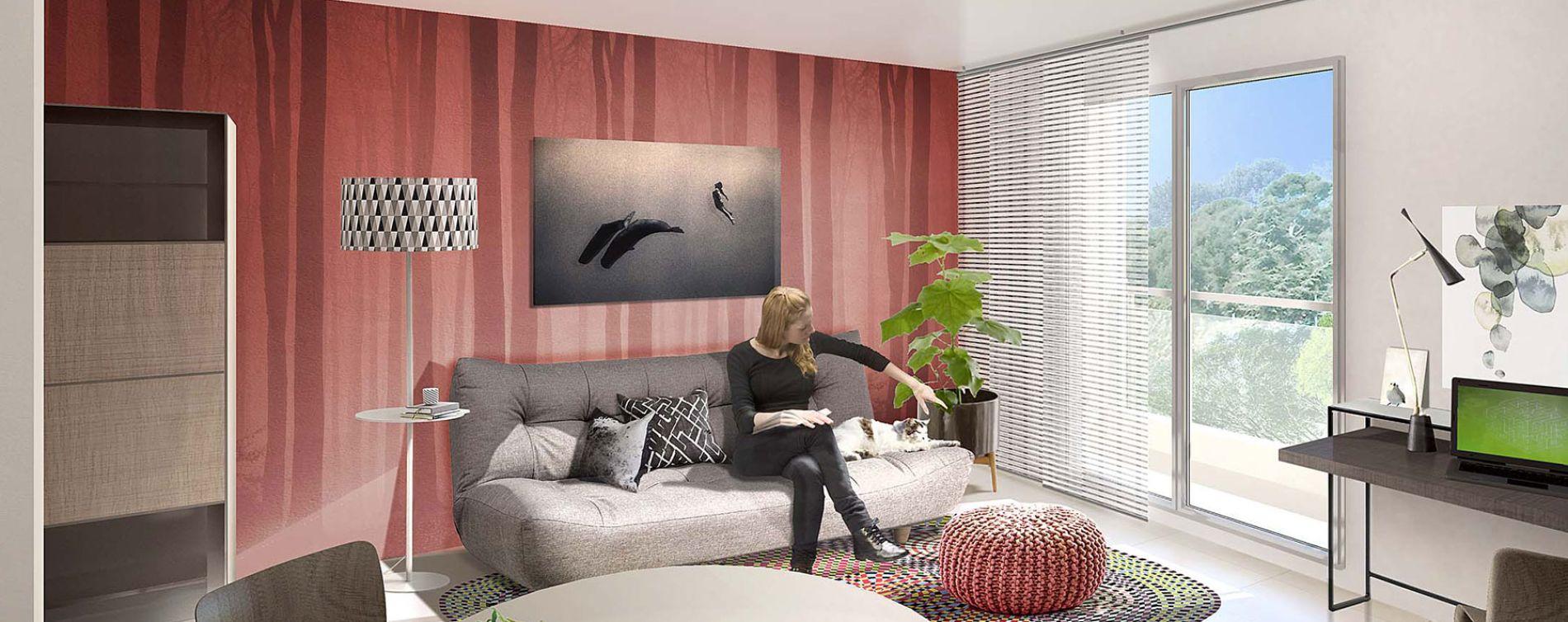 Nice : programme immobilier neuve « Nouvelle Vague » (2)