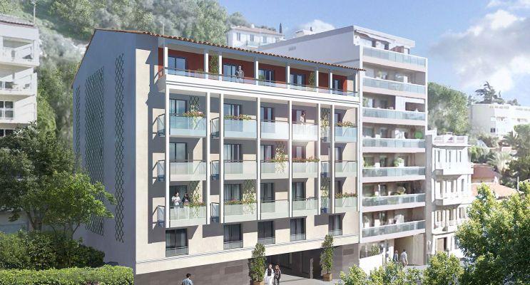 Photo n°1 du Résidence « Nouvelle Vague » programme immobilier neuf en Loi Pinel à Nice
