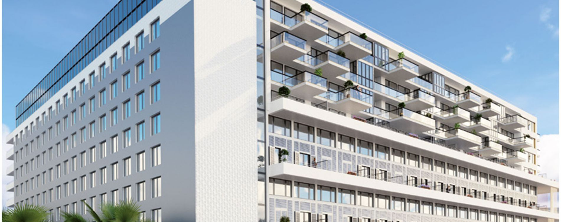 Nice : programme immobilier neuve « Residhome*** Nice Aéroport »