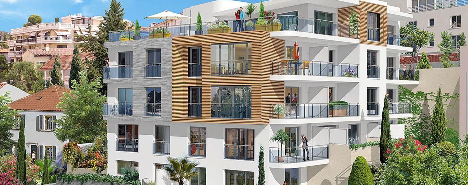 Nice : programme immobilier neuve « Rosa Bianca » en Loi Pinel