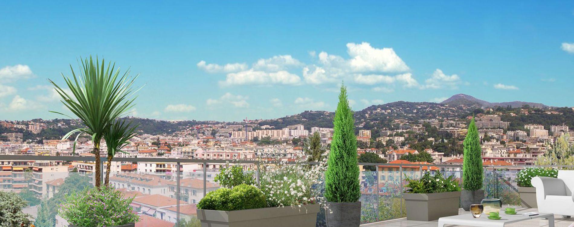 Nice : programme immobilier neuve « Rosa Bianca » en Loi Pinel (2)