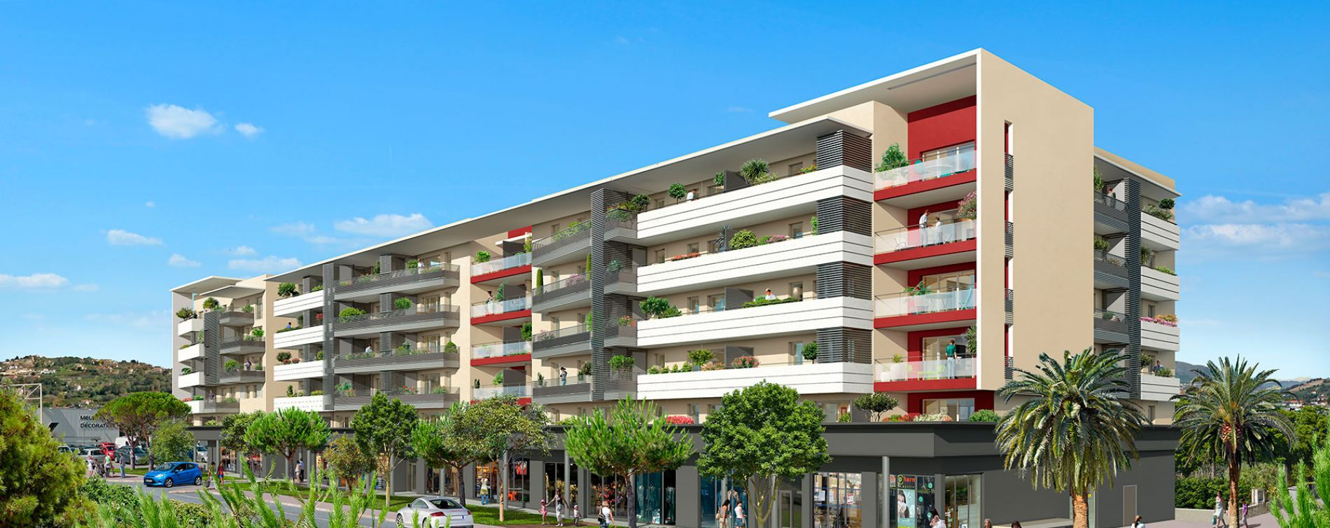 Nice : programme immobilier neuve « So Nice » en Loi Pinel