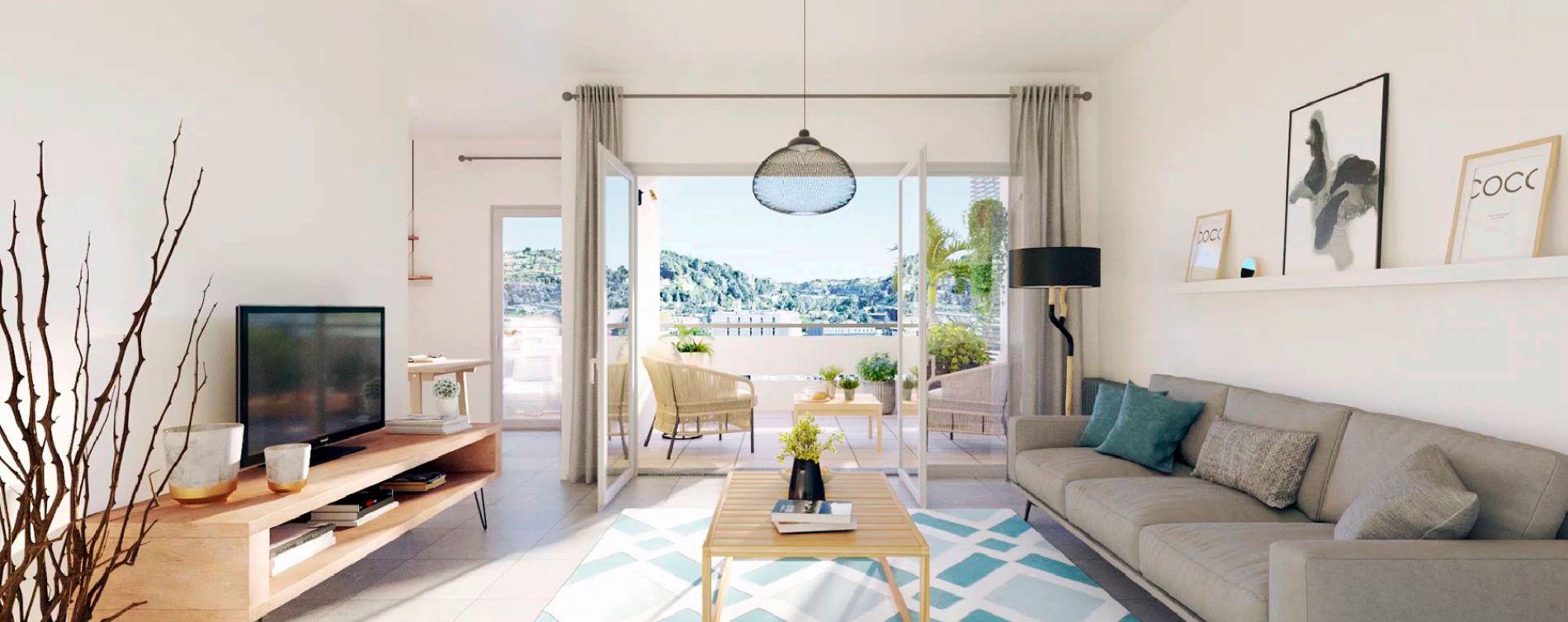 Nice : programme immobilier neuve « So Nice » en Loi Pinel (2)