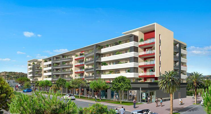 Nice : programme immobilier neuf « So Nice » en Loi Pinel