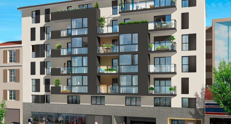 Photo du Résidence « Villa d'Este » programme immobilier neuf en Loi Pinel à Nice